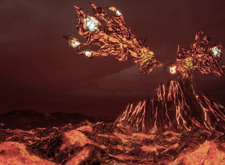 Inori-volcano