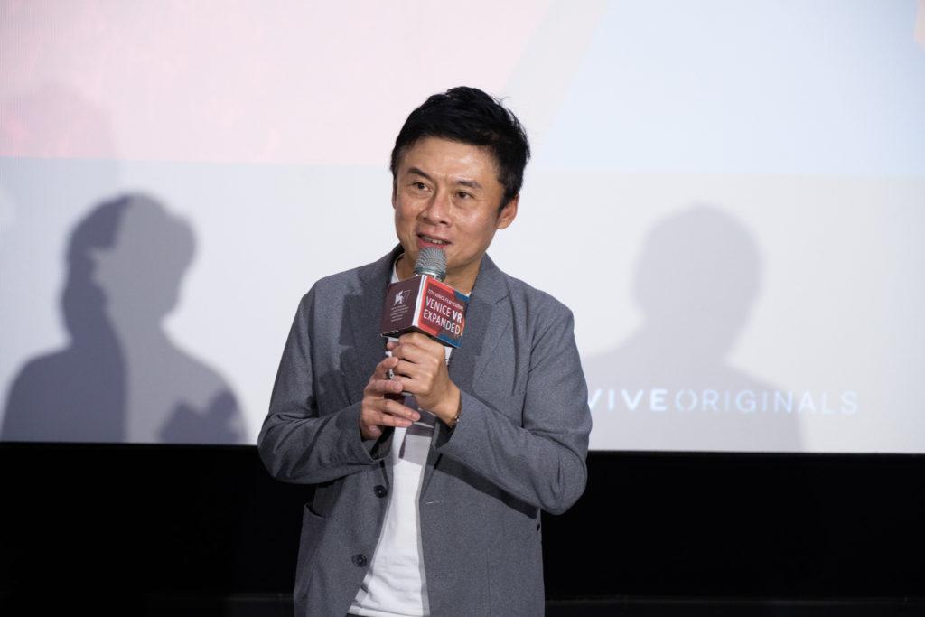 HTC VIVE ORIGINALS總經理劉思銘致詞